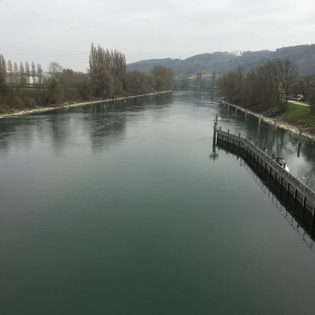Aare bei Port BE