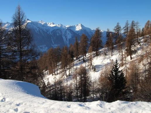 Winterliches Wallis