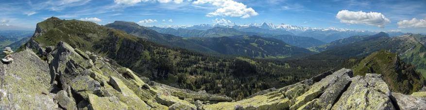 Panorama vom Trogehorn
