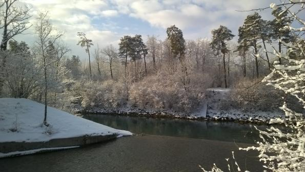 Aare im Winter